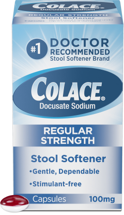 Colace® Regular Strength | Colace® (docusate sodium)